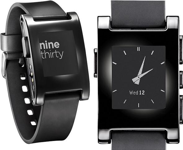 Pebble smartwatch at Best Buy