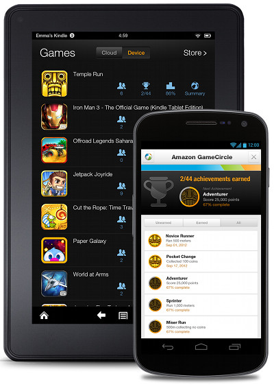 Amazon GameCircle coming to all Android devices
