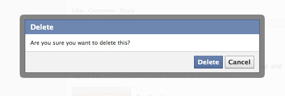 Think your deleted facebook posts are really deleted guess again facebook delete ccuart Image collections