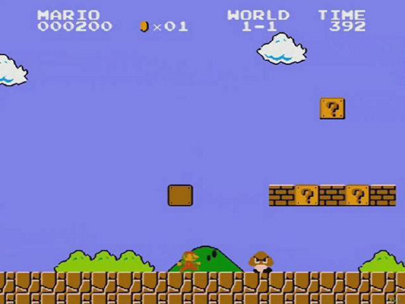 Super Mario Brothers Level 1-1