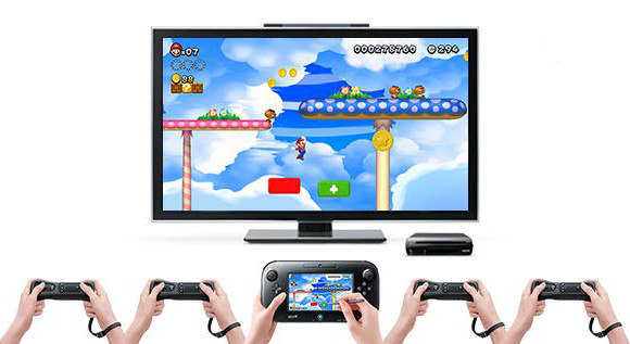 Wii U Controllers In Action