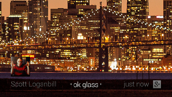 "Google Glass ""OK Glass"" functions"