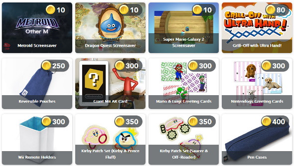 Club Nintendo coin system, hacked