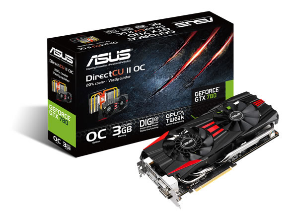 ASUS GeForce GTX 780 DirectCU II OC graphics card