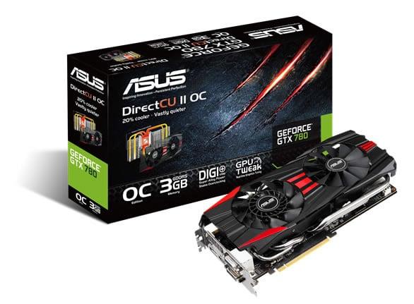 ASUS GeForce GTX 780 DirectCU II OC graphics card