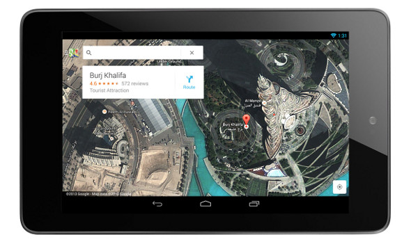 Google Maps now has dedicated tablet apps