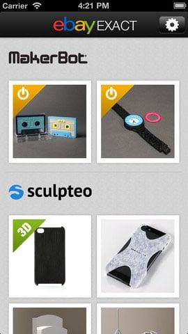 eBay Exact iOS App