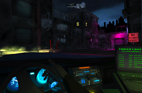 Precinct gameplay screenshot