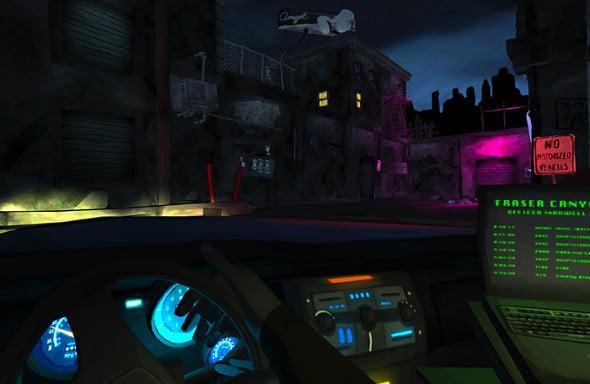 Precinct gameplay screenshot