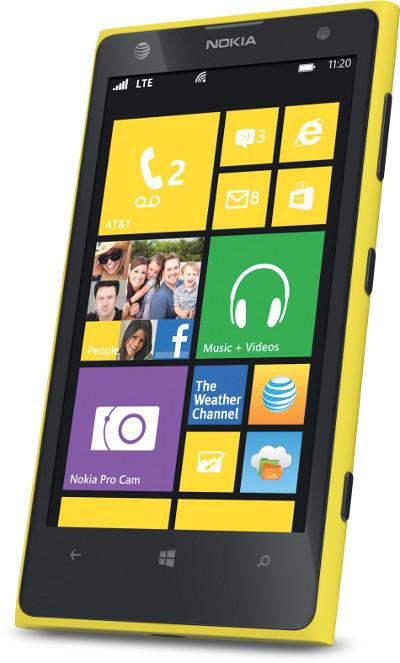 Nokia Lumia 1020 with Windows Phone 8