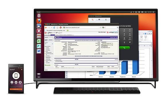 Ubuntu Edge dual boot PC