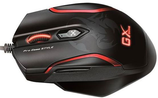 The Maurus X corded gaming mouse.