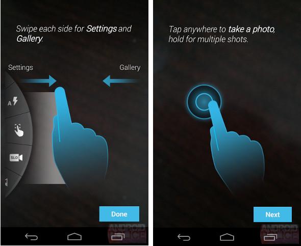 Moto X camera app leak