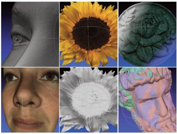 Fuel3D camera scanner