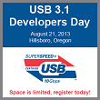 SuperSpeed USB 10Gbps Specification Set and Ready for Development
