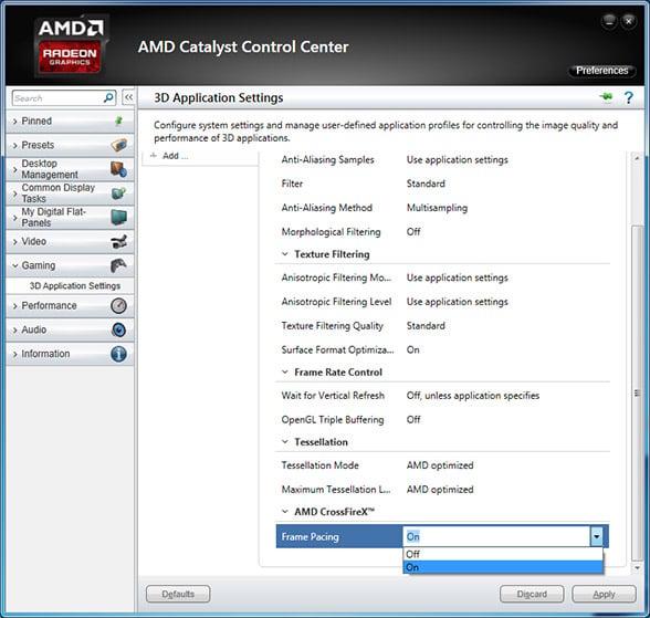 how to turn off vsync amd