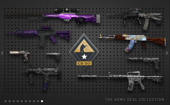 Valve Launches New Gun Collections For CS:GO