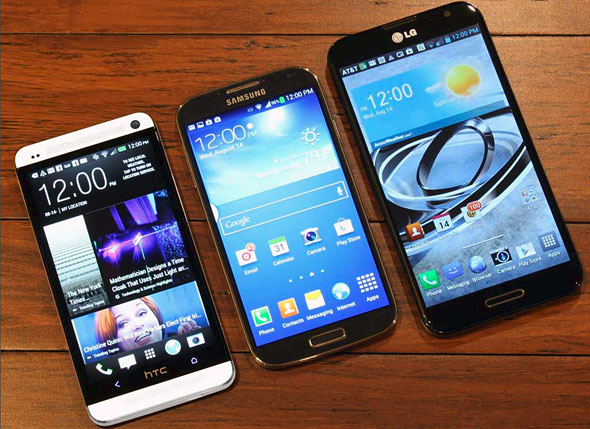 Superphone Round-Up: Samsung, HTC, LG and More
