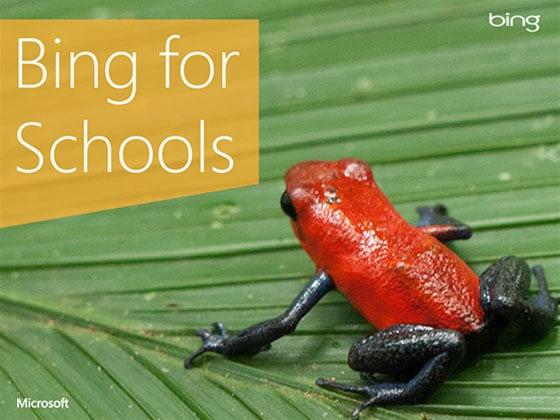 Bing for Schools