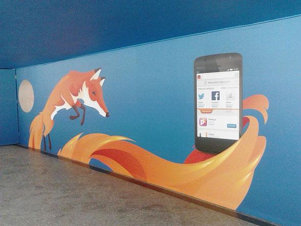 Firefox OS Billboard