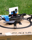 41 Megapixels Take Flight: Nokia Lumia 1020 Rides Atop AR.Drone Quadricopter