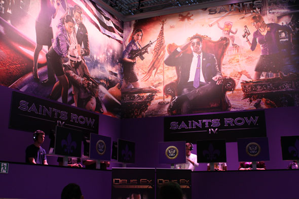 Saints Row IV at Gamescom