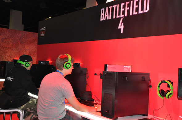 Battlefield 4 at Gamescom