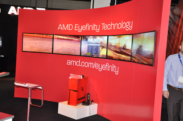 AMD Eyefinity at Gamescom