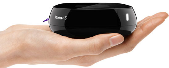 Roku 3, which will likely be a competitor to the new Intel set top box.