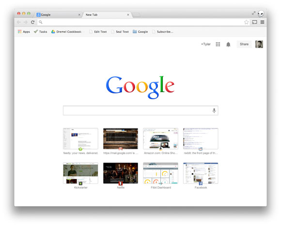 Google Testing Even Faster 'New Tab' Searches In Chrome Browser
