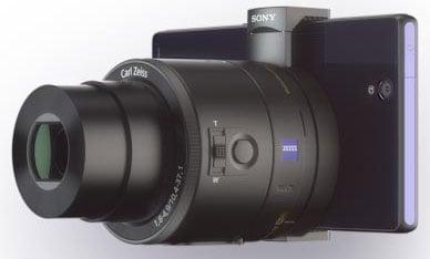 Sony QX camera for Experia Smartphones