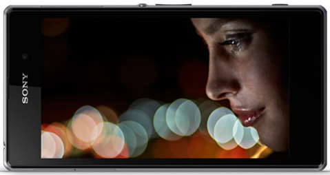 Full HD TRILUMINOS display on the Sony Experia Z1