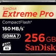 SanDisk Develops World's First 256GB CompactFlash Memory Card Optimized for 4K Video