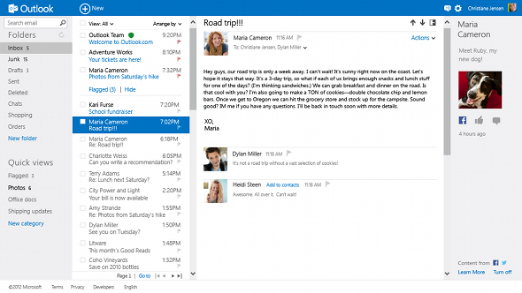 Outlook com Adds IMAP Support For Faster Synching | HotHardware