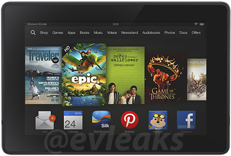 Kindle Fire Leaked Photo