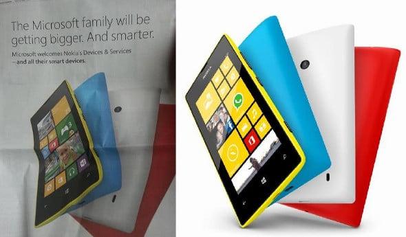 Nokia Lumia 520 Microsoft rebranding