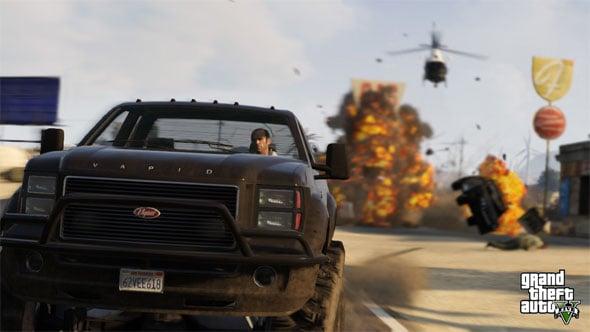 Grand Theft Auto V Screenie