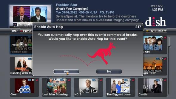 Dish Network Hopper AutoHop