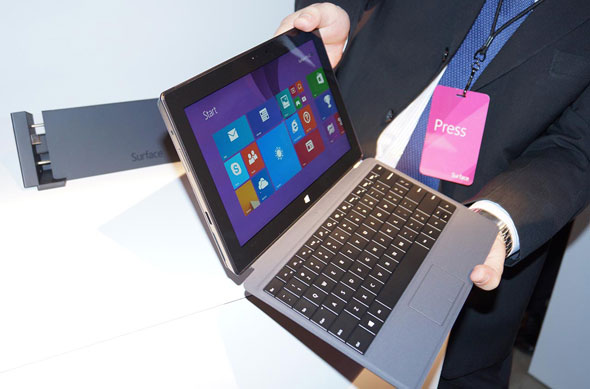 Surface 2 Pro in Hand