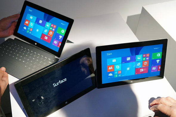 Surface 2 and Surface