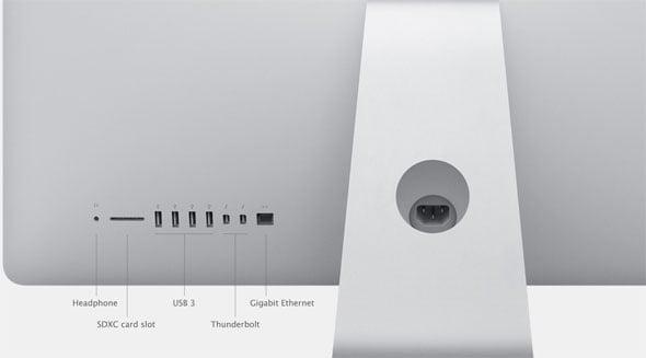 iMac Ports