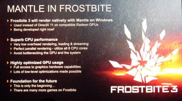 AMD Mantle API for Radeon GPUs