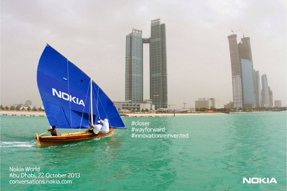 Nokia event October 22 Abu Dhabi