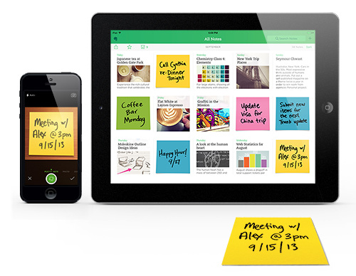 Evernote Post-it
