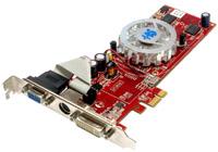 HIS 1x PCI-E Graphics Card