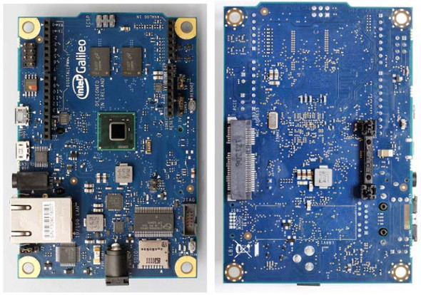 Intel Galileo development board with Quark SoC
