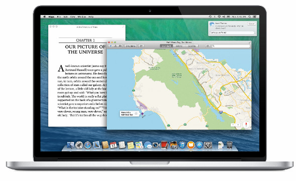 Apple's Mac OS X Mavericks