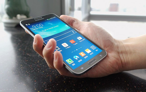 Samsung Galaxy Round smartphone curved display