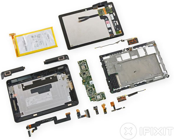 Kindle Fire HDX Teardown