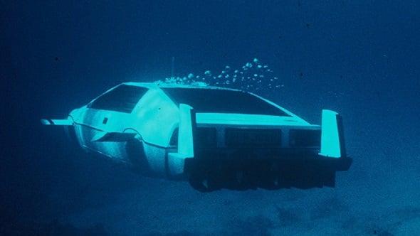 Lotus Esprit Tesla submarine